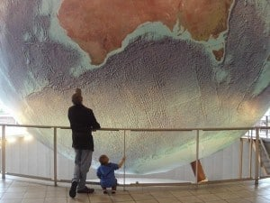 Largest Revolving and Rotating Globe
