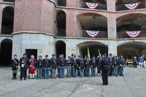 Civil War Reenactment at Fort Point photo credit Will Elder courtesy of NPS