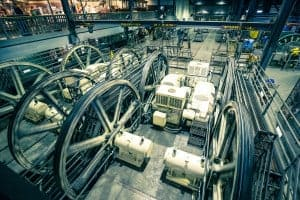 Equipment in the Cable Car Museum