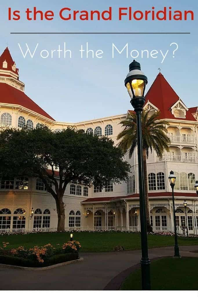 Is the Grand Floridian worth the money? That is the million dollar question, we break down the pros and cons on spending the extra money to stay at the Grand Floridian.