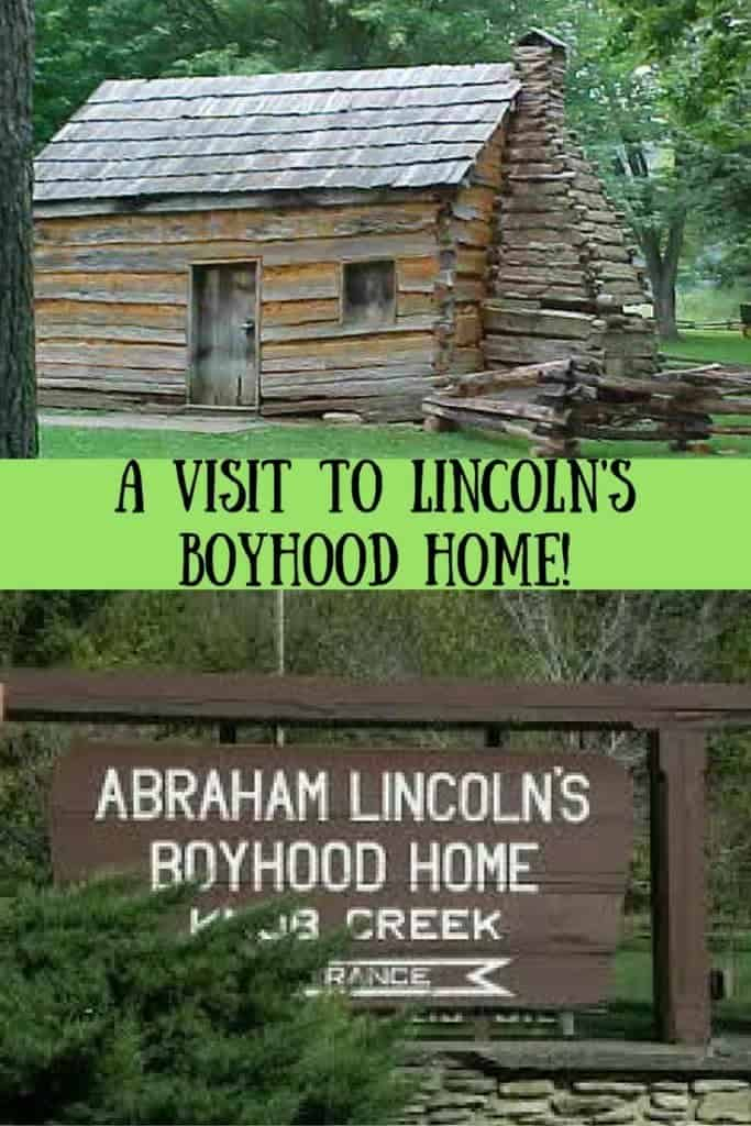 A visit to Lincoln's Boyhood Home!