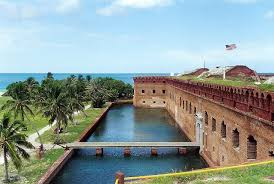 A view of the fort. Photo Courtesy: National Parks.org