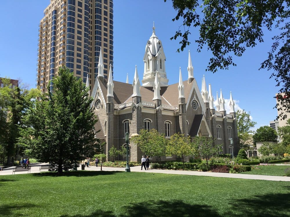 Temple Square in Salt Lake City