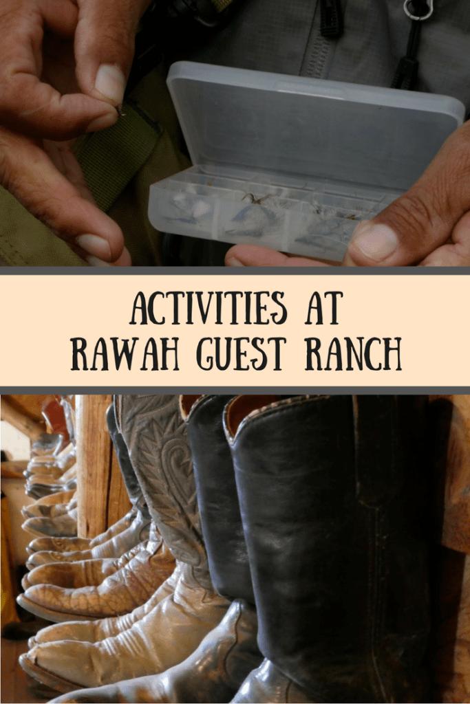 Activities at Rawah Guest Ranch