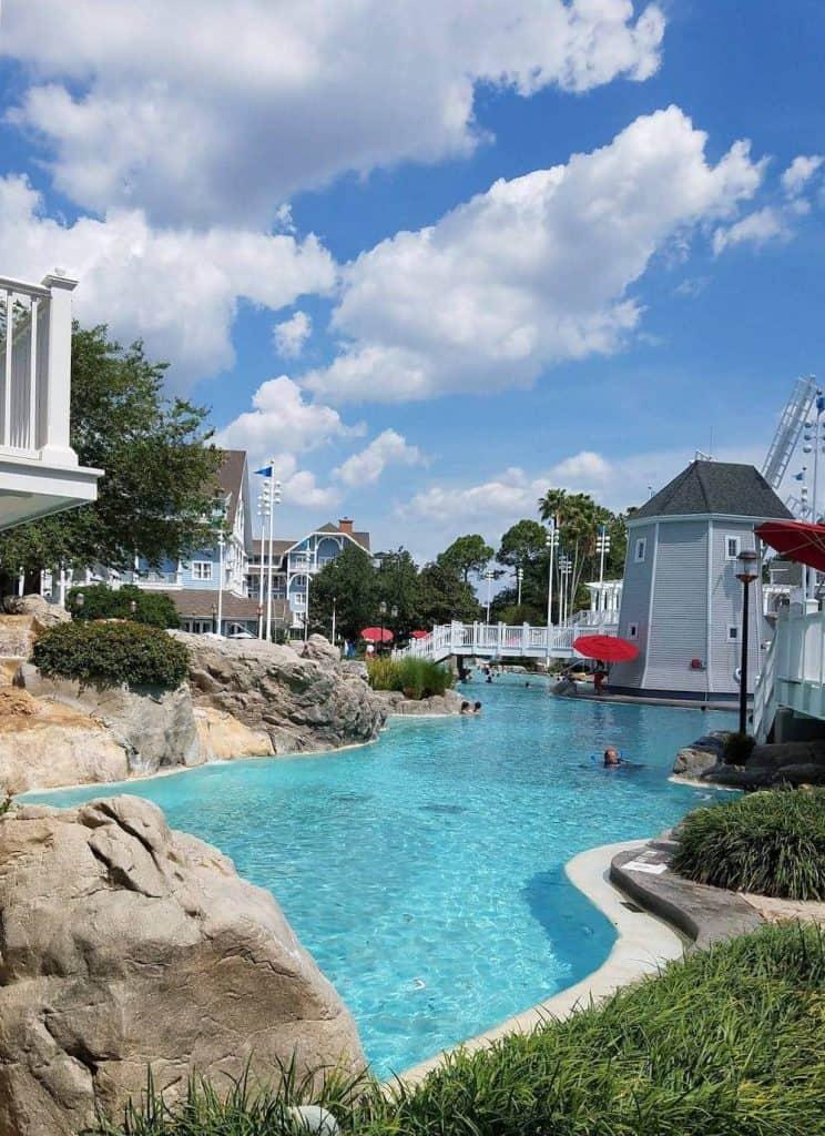 The pool at Disney's Beach Club