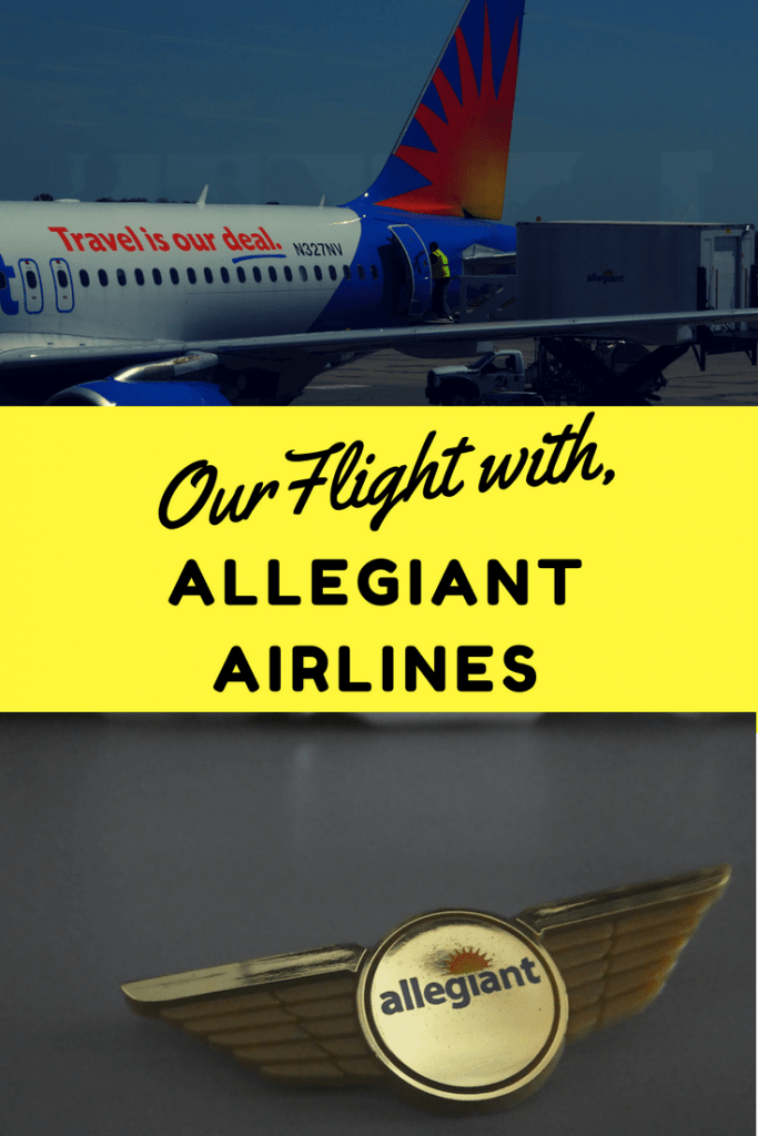 Our Flights with Allegiant Airlines
