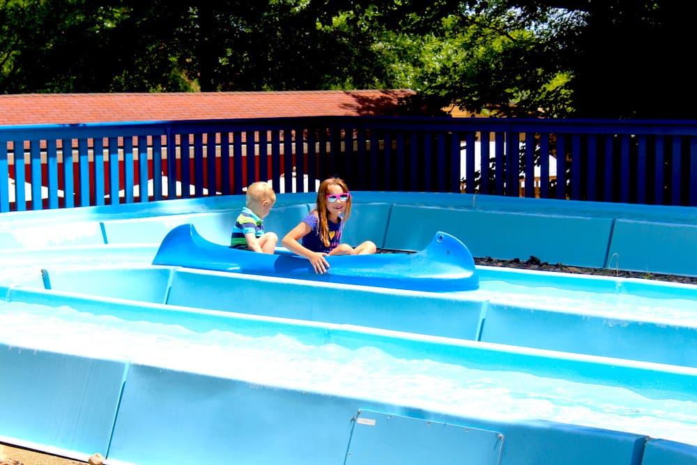 Rides at Splashin' Safari