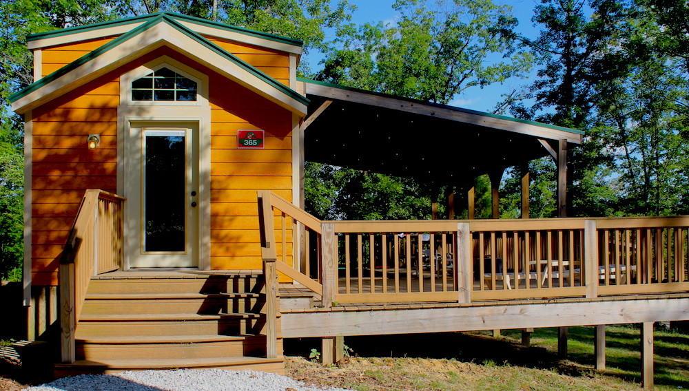 Cabins at Lake Rudolph